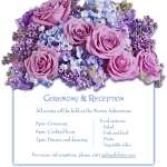invitation ceremony insert