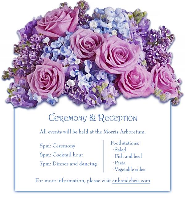 invitation ceremony insert