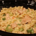 crockpot creamy chicken and noodles