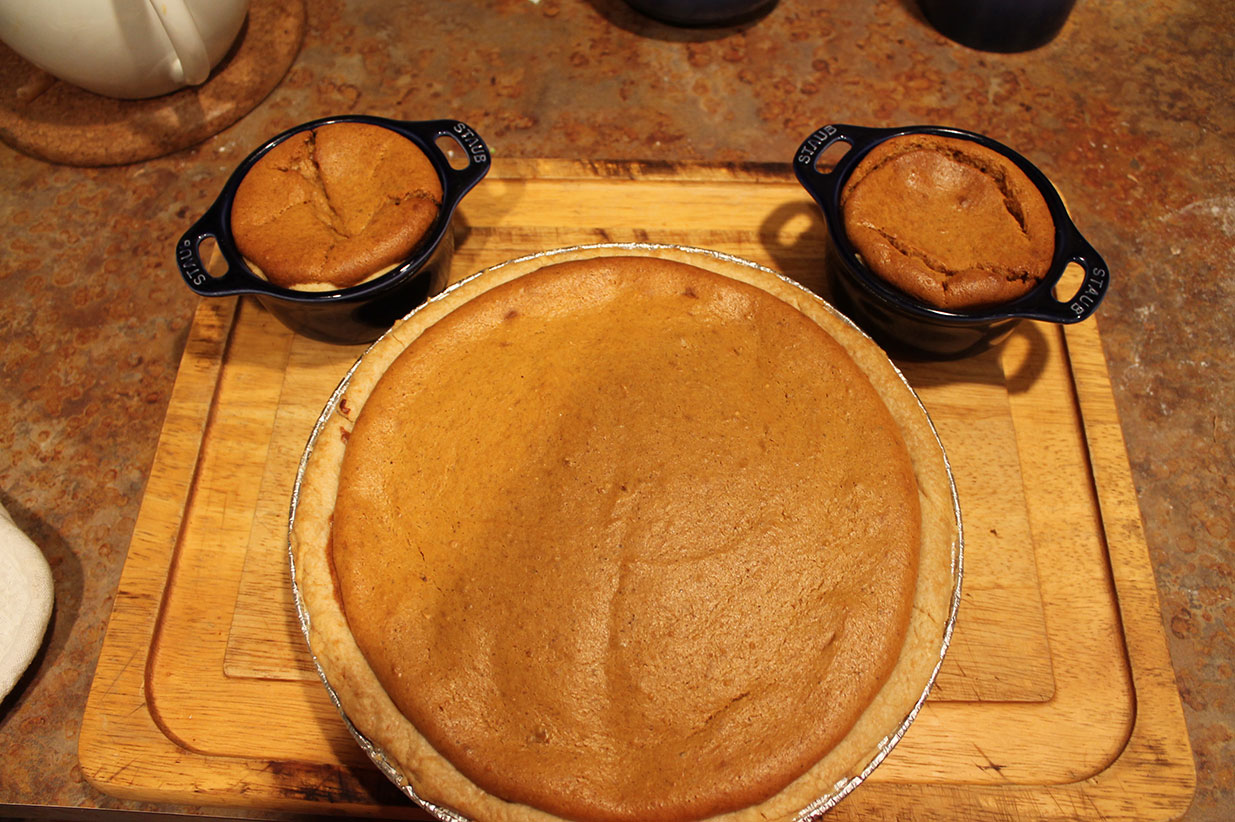 in honor of our upcoming trip, a sweet potato pie mickey