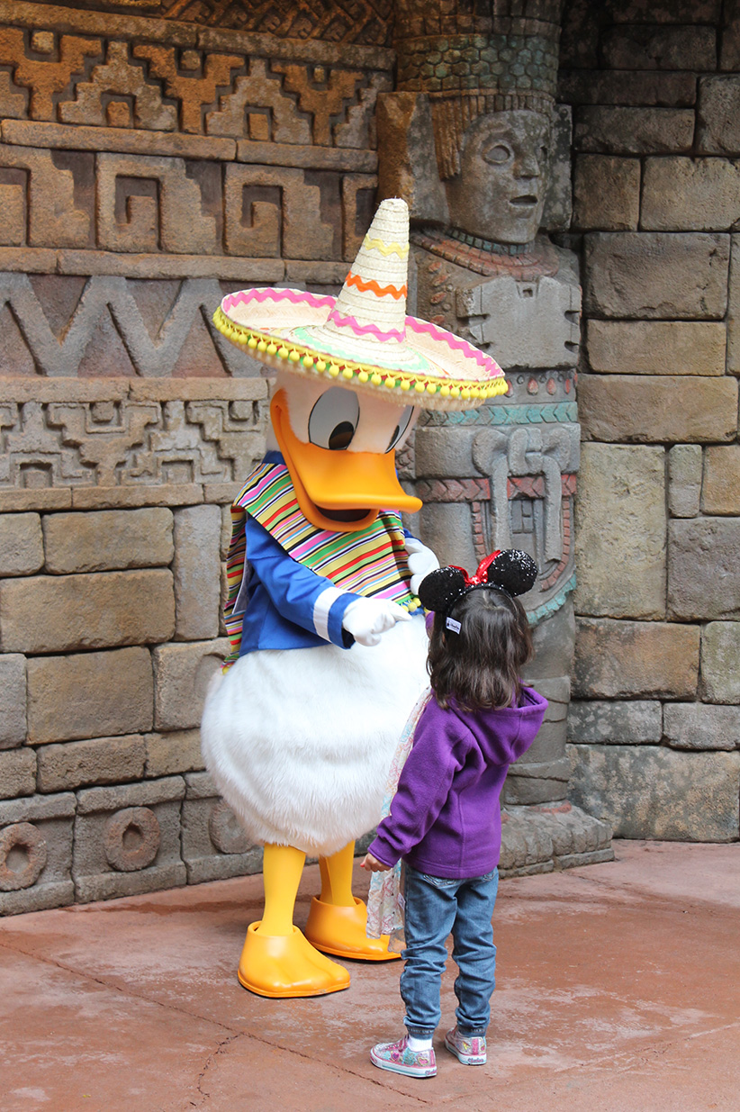 I love Donald in The Three Caballeros!