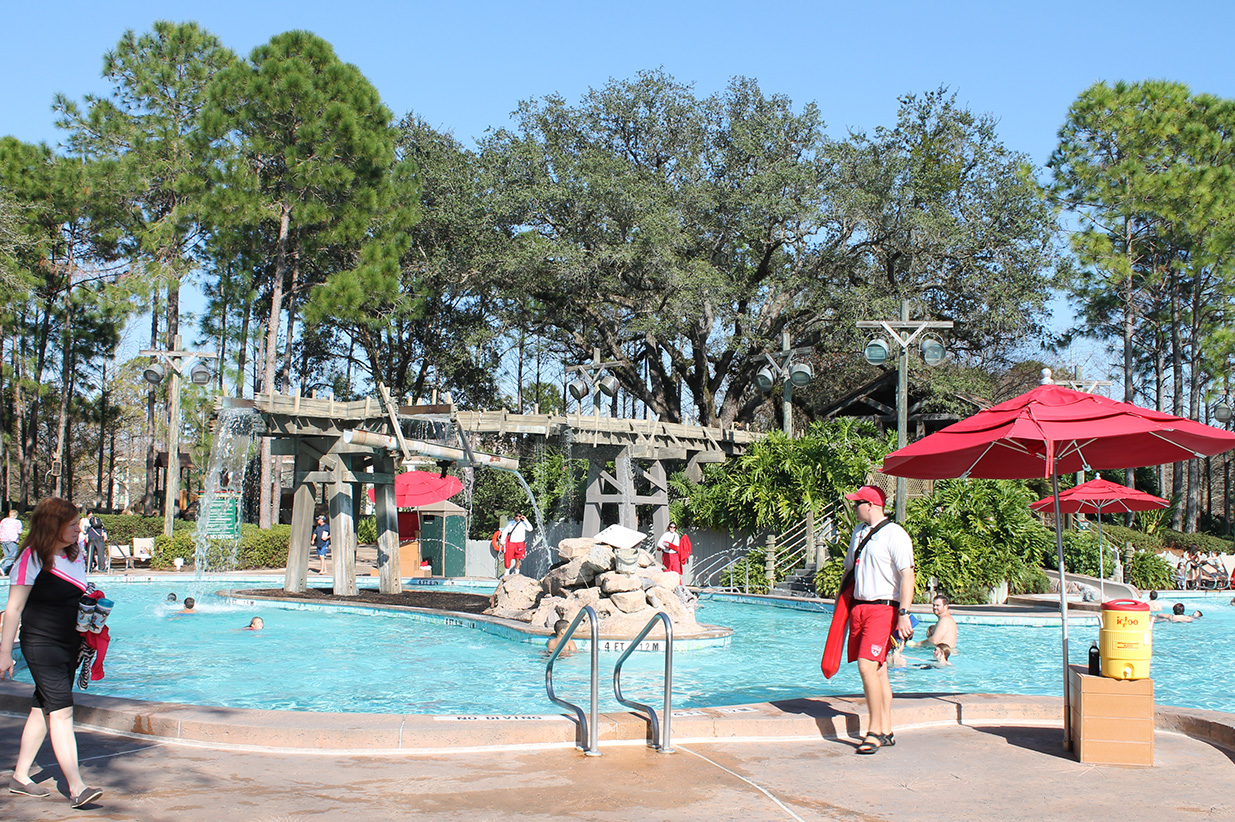 A Disney resort is not complete without a fun pool!