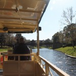 riding the river boat