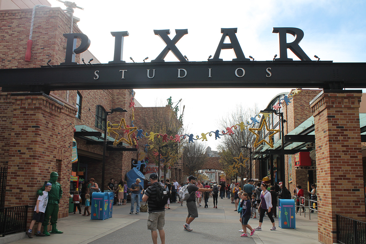 I can't remember what was here before, but yay PIXAR!