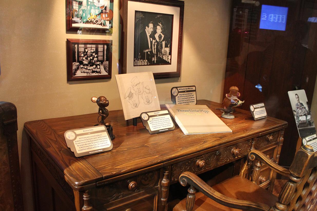 Walt Disney: One Man's Dream. It's like a museum of Disney!