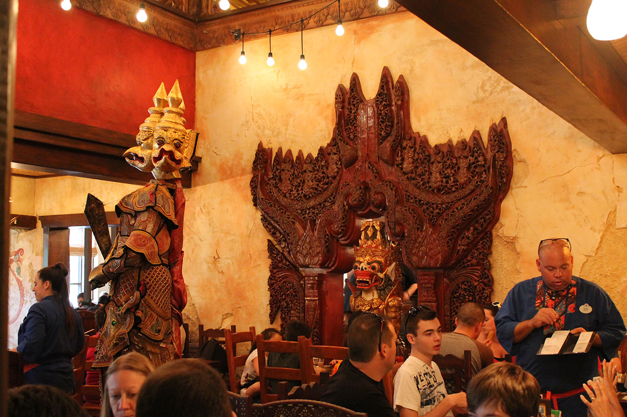 Lunch at the Yak and Yeti.