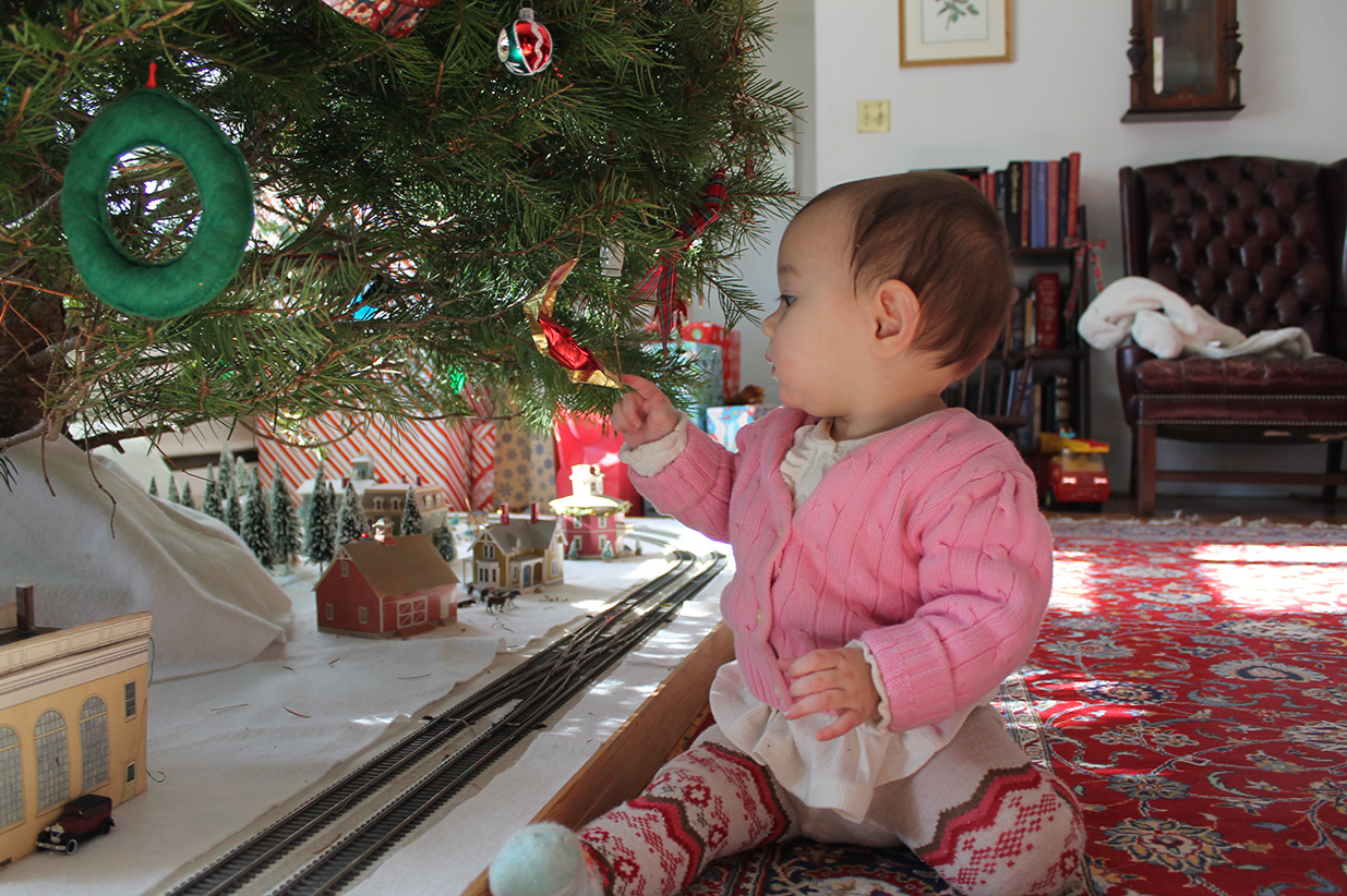 the discovery of a shiny ornament