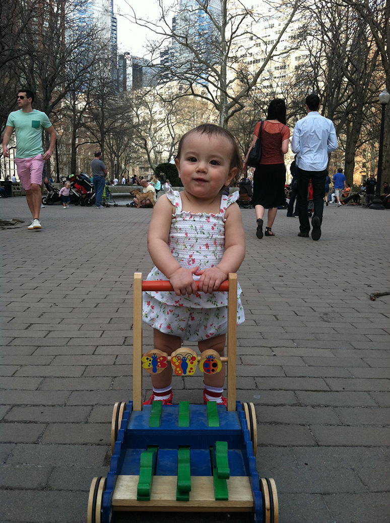 cruising the park